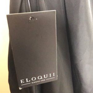 Eloquii Skirts - Black Taffeta Ball Gown Maxi Skirt 18W